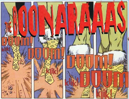 The Boonaraaas-  Logo